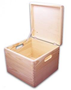 57363-Aufbewahrungsbox-quadratisch-Griffe-offen
